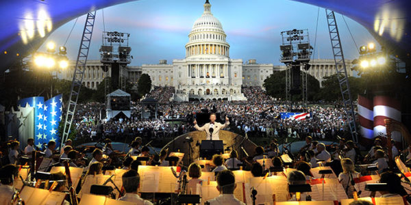 The National Memorial Day concert in Washington DC.