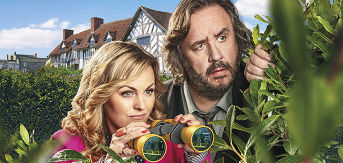 Jo Joyner stars as Lu Shakespeare along side Mark Benton as Frank Hathaway in the second season of Shakespeare & Hathaway: Private Investigators.