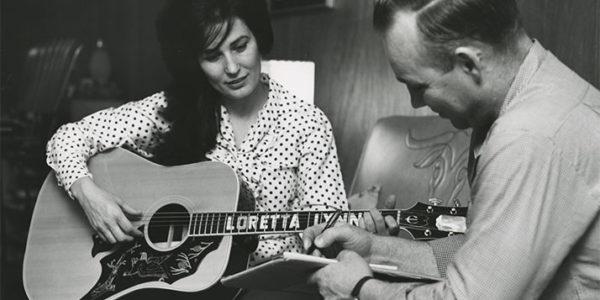 "Loretta Lynn and her husband Oliver ""Doolittle"", 1965."