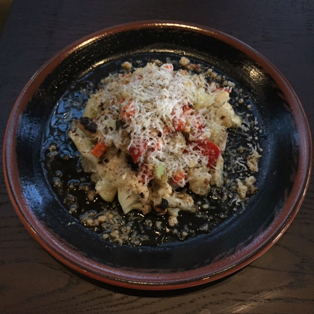 Wood fired cauliflower at See Saw in the Short North.