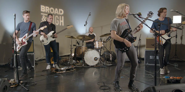 The Cordial Sins perform in the WOSU studio for Broad & High.