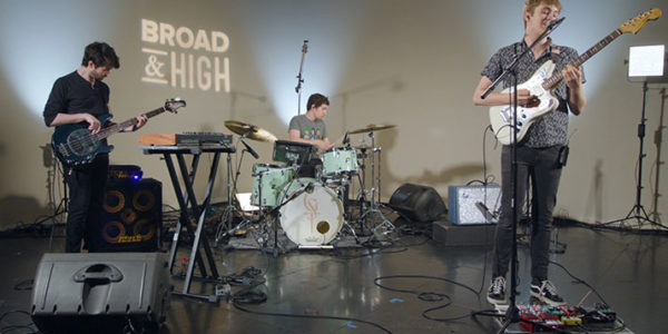 Ghost Soul Trio performs on Broad&High Presents on WOSU.