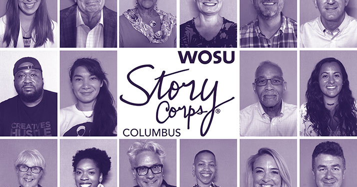 StoryCorps COLUMBUS graphic