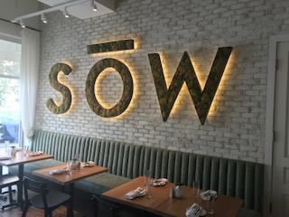 The interior of Sow Plated in Upper Arlington. Photo: Rich Terapak.