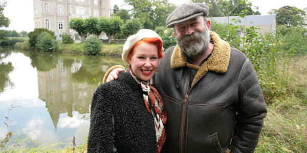 Angel and Dick Strawbridge in Escape To The Chateau