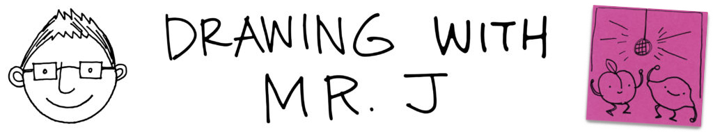 Drawing with Mr J logo
