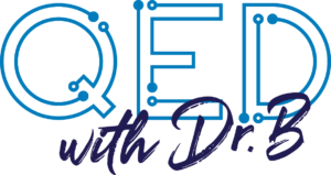 QED with Dr. B logo