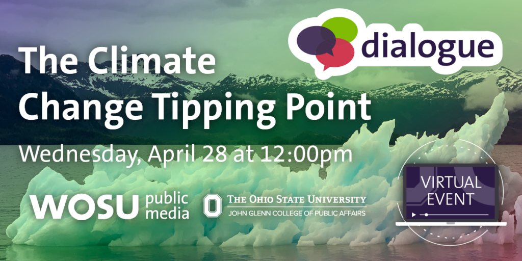 Dialogue: The Climate Change Tipping Point with Ellen Mosley-Thompson and Lonnie Thompson Virtual Event Wednesday, April 28 at 12:00pm