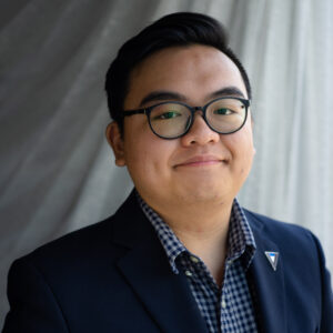 Michael Lee - Former Intern Returns to Newsroom of WOSU 89.7 NPR News