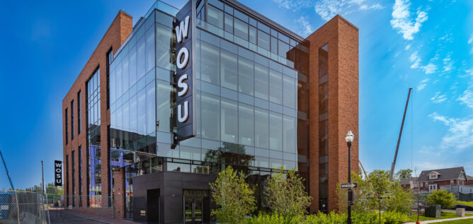 The WOSU Headquarters in July 2021.